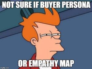 creating a persona in behavioral health content strategy helps you empathize with your ideal customer, so same thing.