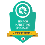 Lora Horn of Alba Content Studio is Search Marketing Specialist certified