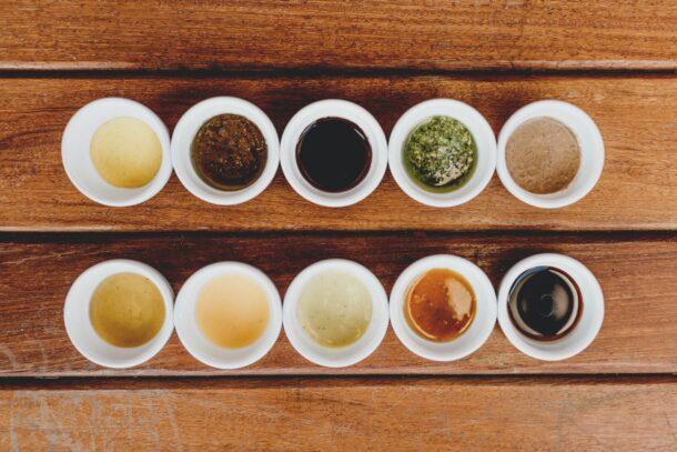 a sampling of teas just like a sampling from Alba Content Studio Portfolio
